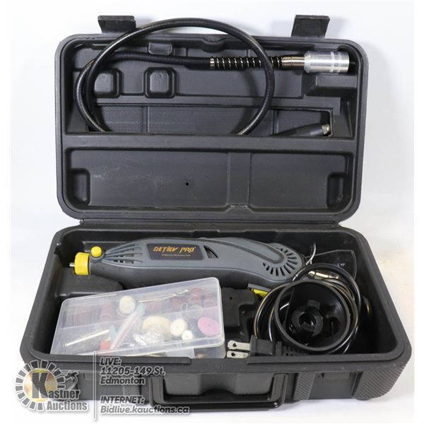DETLEV PRO ROTARY TOOL WITH 103 ACCESSORIES