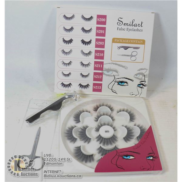 SMILE - ART FALSE EYELASH SET