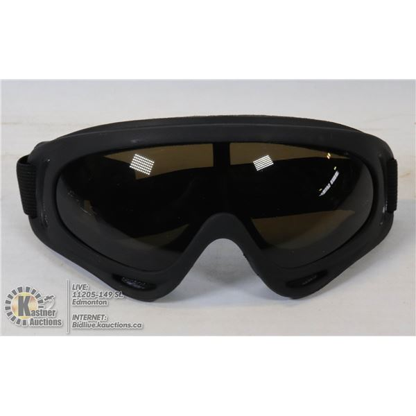 PAIR OF TINTED SPORTS GOGGLES