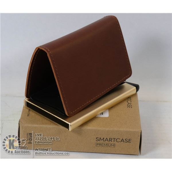 SMARTCASE PREMIUM WALLET / CARD HOLD WITH RFID