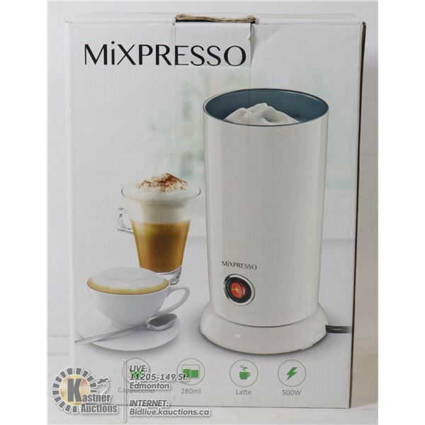 ESPRESSO MILK FROTHING APPLIANCE