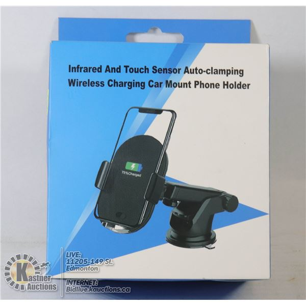 INFRARED TOUCH SENSOR AUTO CLAMPING WIRELESS