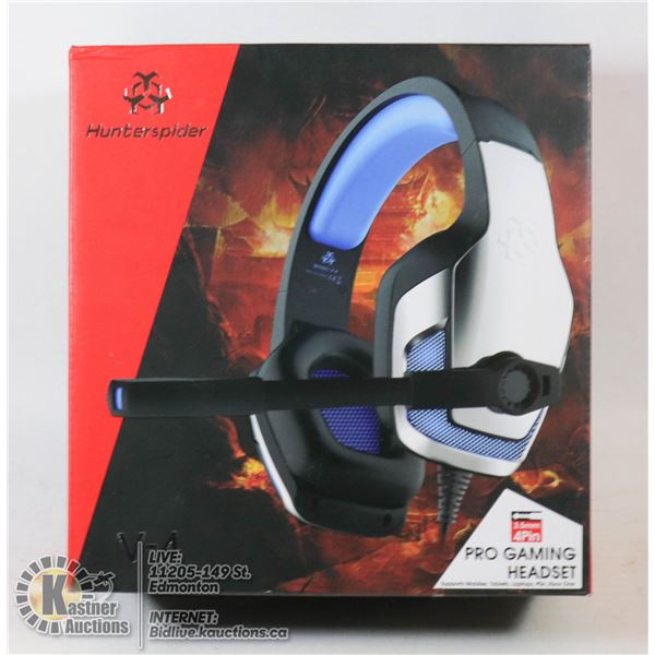 HUNTERSPIDER PRO GAMING HEADSET