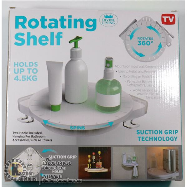 NEW ROTATING SHELF (HOLDS UP TO 4.5KG)