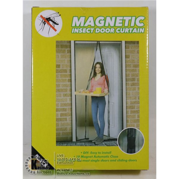 NEW MAGNETIC MESH INSECT DOOR CURTAIN
