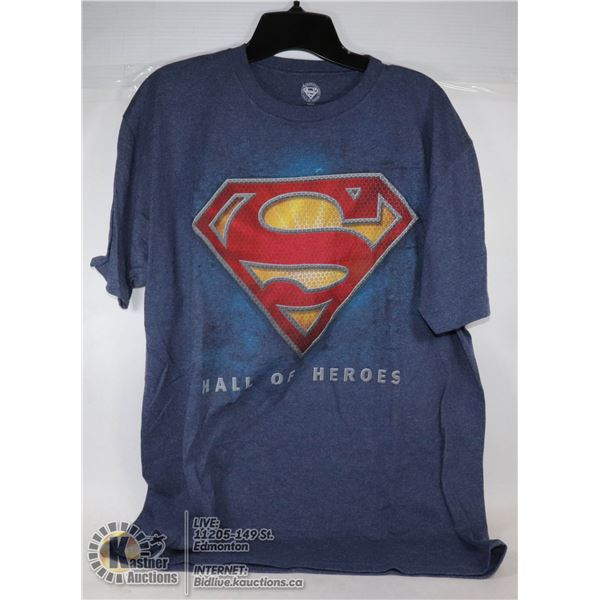 NEW SUPERMAN MENS T-SHIRT SIZE LARGE