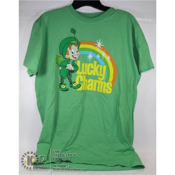 NEW LUCKY CHARMS MENS T-SHIRT SIZE LARGE