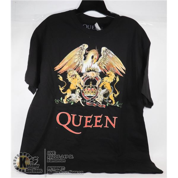 NEW QUEEN SIZE X-LARGE MENS T-SHIRT