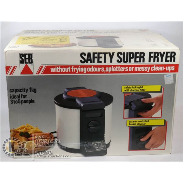 SAFETY SUPER FRYER DEEP FRYER