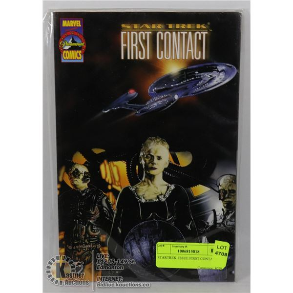 STARTREK  ISSUE FIRST CONTACT