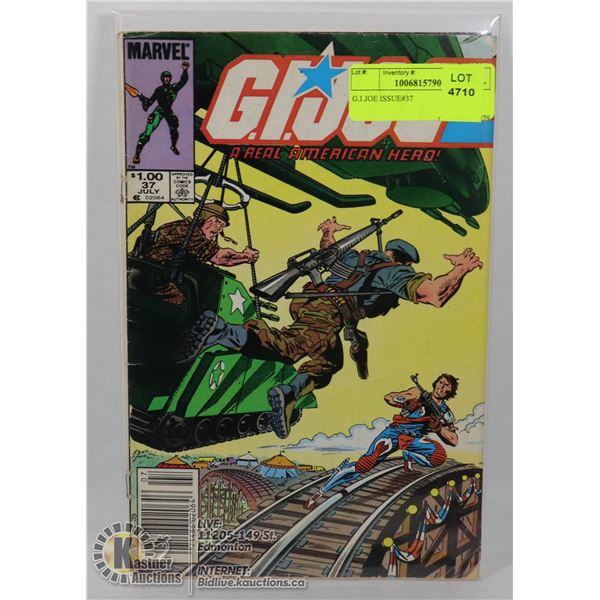 G.I.JOE ISSUE#37