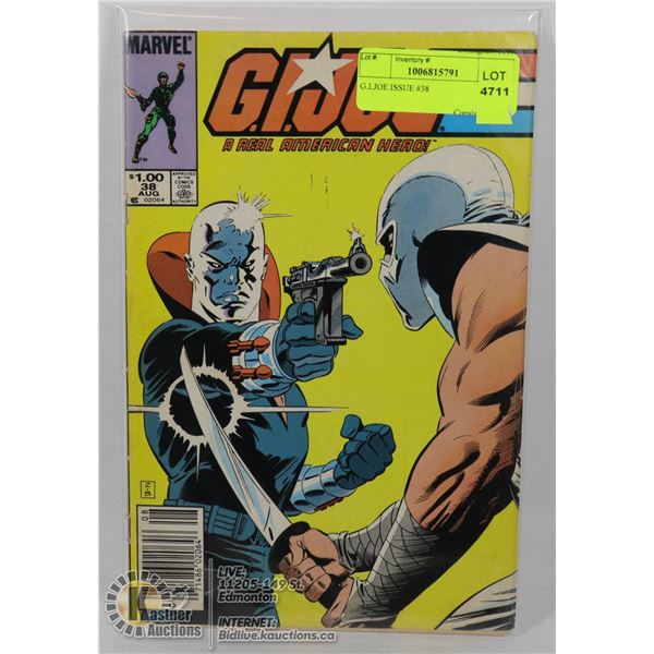 G.I.JOE ISSUE #38