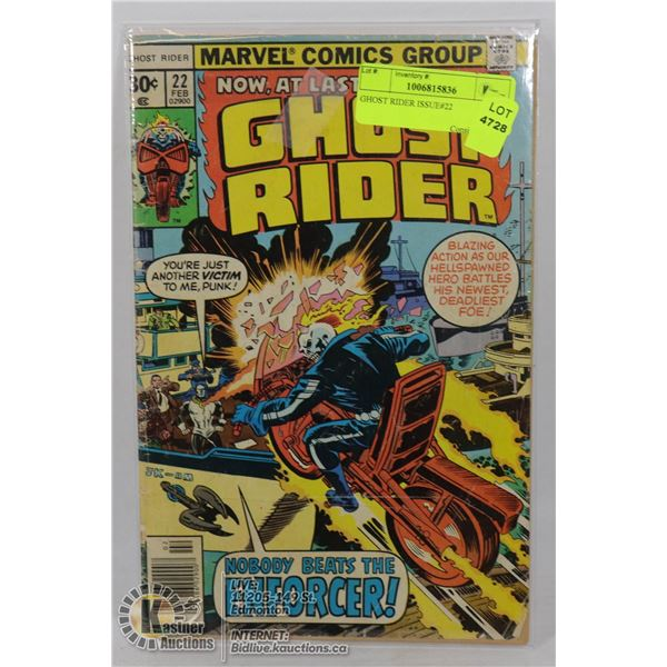 GHOST RIDER ISSUE#22