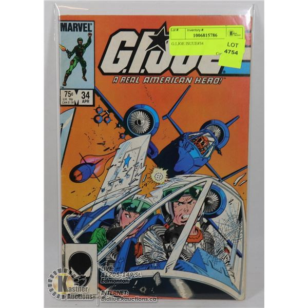 G.I.JOE ISUUE#34