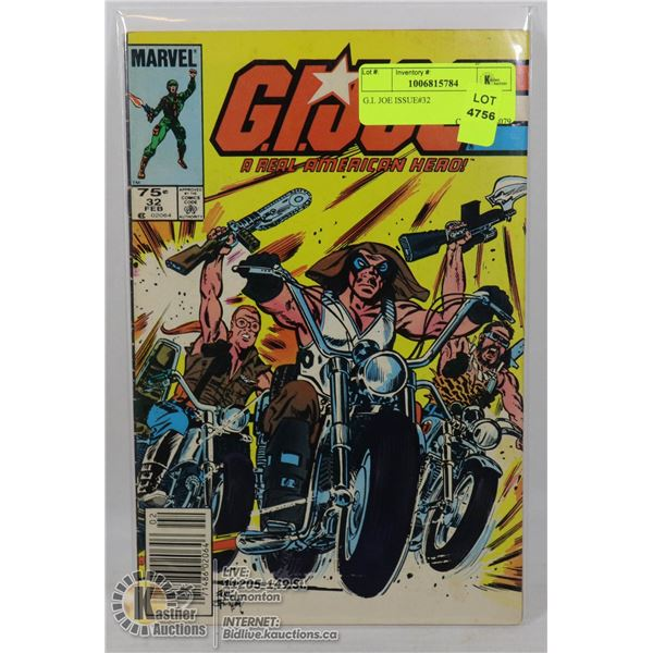 G.I. JOE ISSUE#32