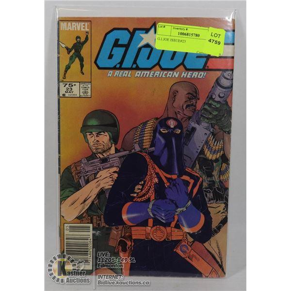 G.I.JOE ISSUE#23