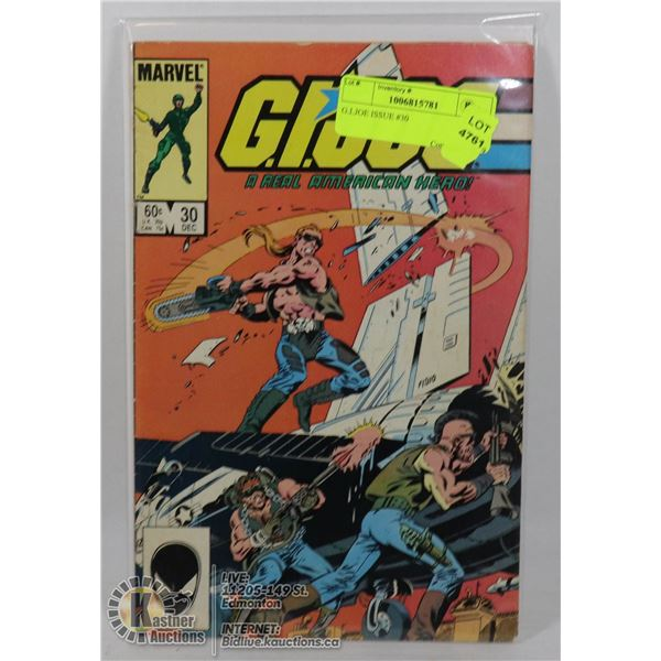 G.I.JOE ISSUE #30