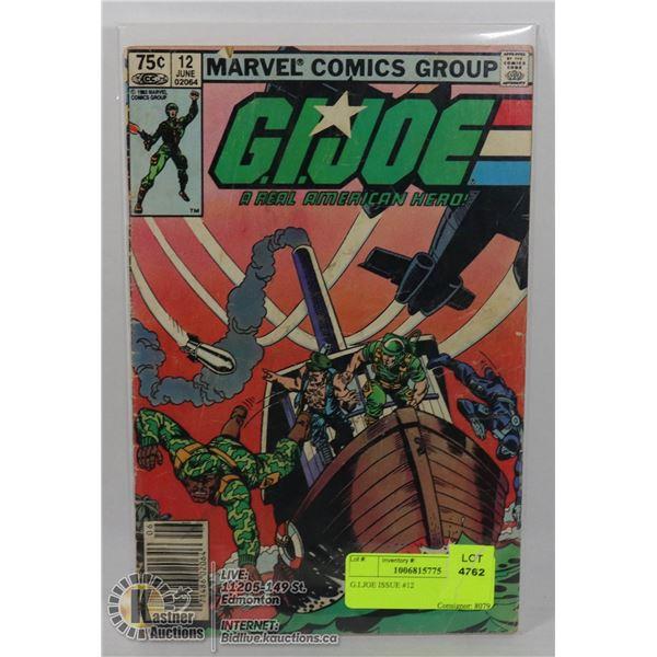 G.I.JOE ISSUE #12