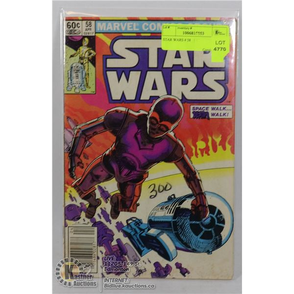 STAR WARS # 58