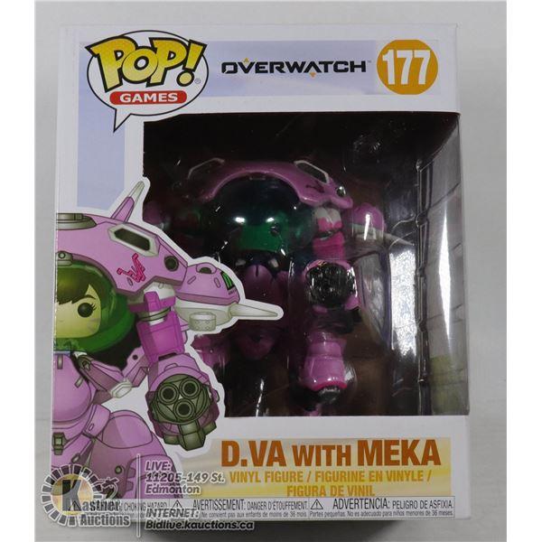 """FUNKO POP OVERWATCH D.VA & MEKA 6"""""""