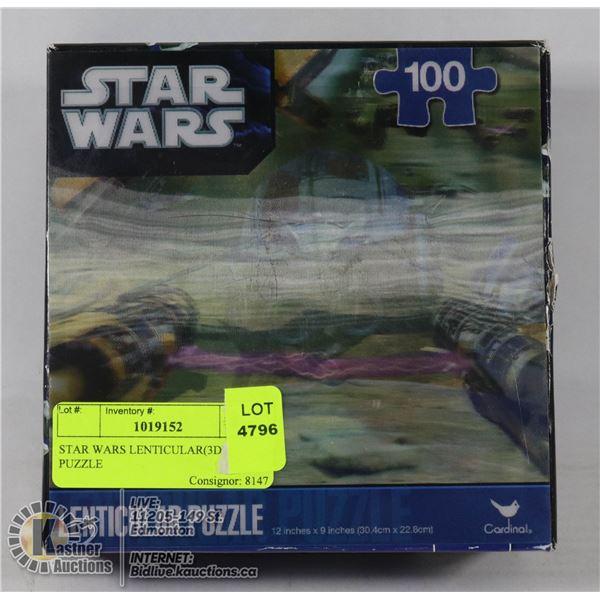 STAR WARS LENTICULAR(3D) PUZZLE