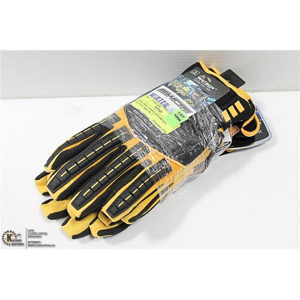 NEW DRILL SERGEANT IMPACT GLOVES. SIZE XL. 2