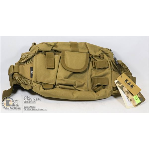 MILITARY STYLE TACTICAL WAIST POUCH