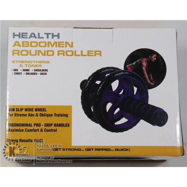 NEW ABDOMEN ROUND ROLLER - GREAT FOR ABS