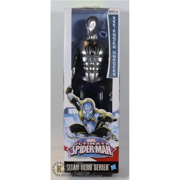 NEW MARVEL TITAN HERO SERIES ARMORED SPIDERMAN
