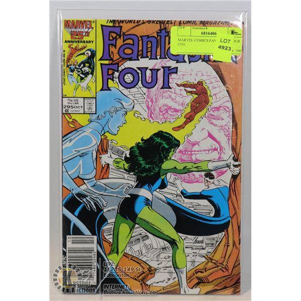MARVEL COMICS FANTASTIC FOUR #295