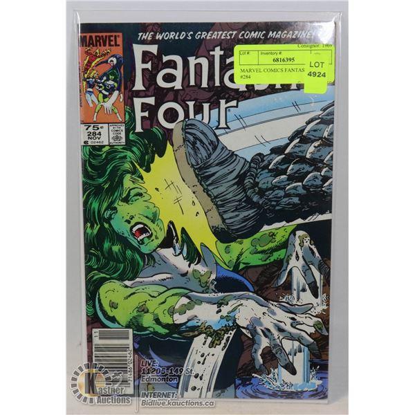 MARVEL COMICS FANTASTIC FOUR #284