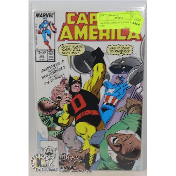 MARVEL COMICS CAPTAIN AMERICA #328
