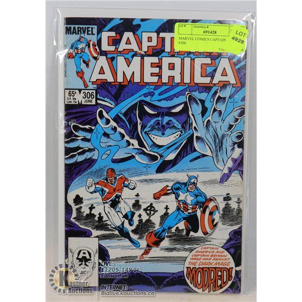 MARVEL COMICS CAPTAIN AMERICA #306