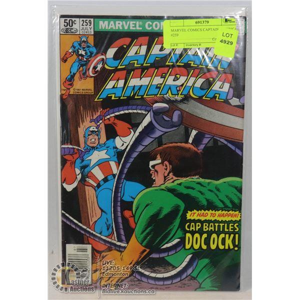 MARVEL COMICS CAPTAIN AMERICA #259