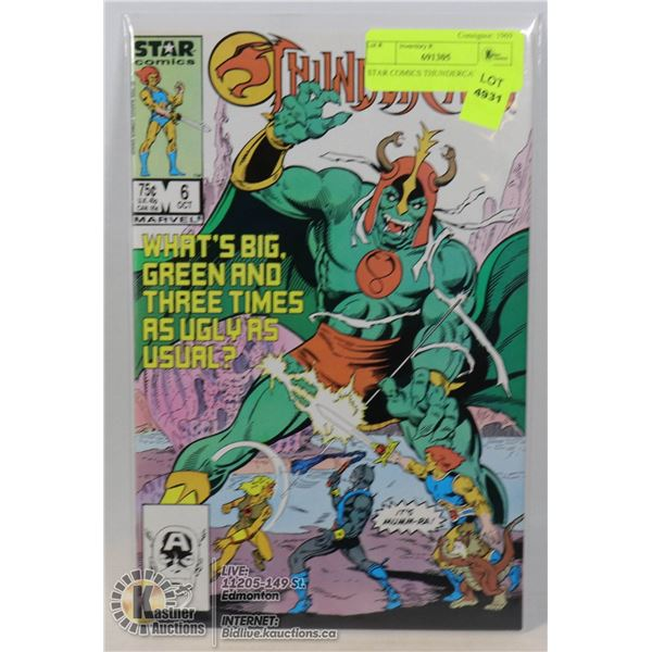 STAR COMICS THUNDERCATS #6