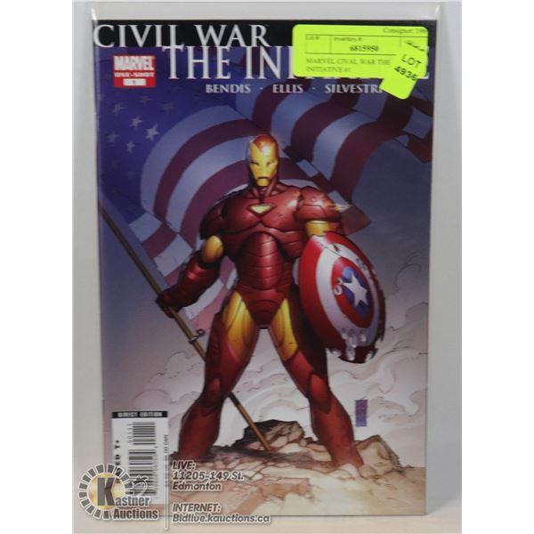 MARVEL CIVAL WAR THE INITIATIVE #1