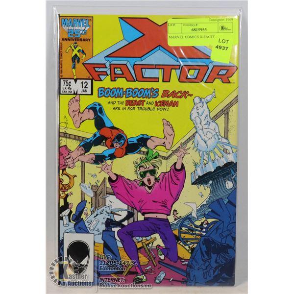MARVEL COMICS X-FACTOR #12