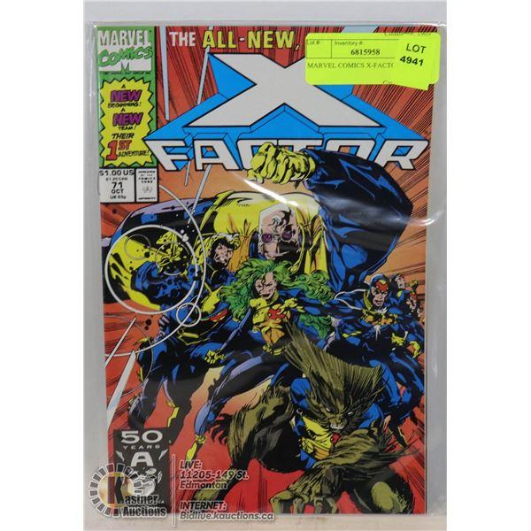 MARVEL COMICS X-FACTOR #71