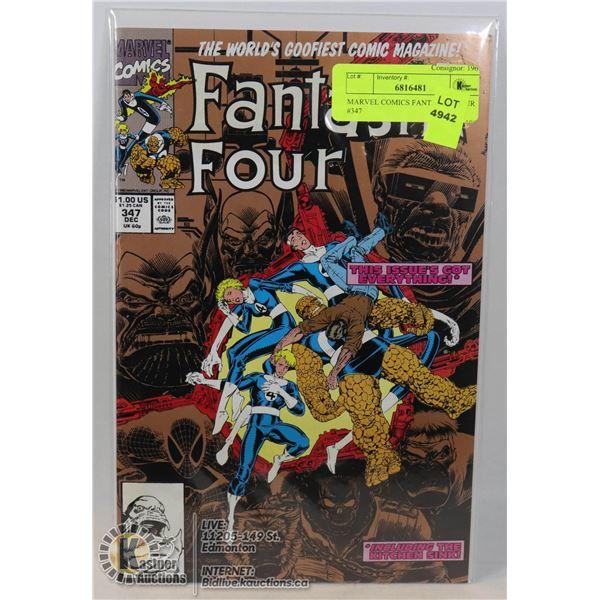 MARVEL COMICS FANTASTIC FOUR #347