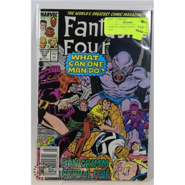 MARVEL COMICS FANTASTIC FOUR #328