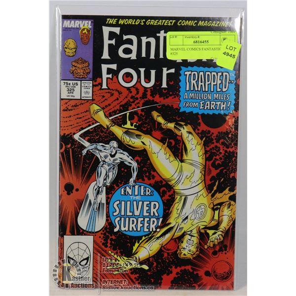 MARVEL COMICS FANTASTIC FOUR #325