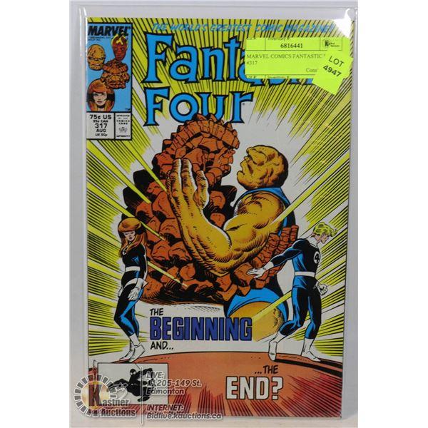 MARVEL COMICS FANTASTIC FOUR #317