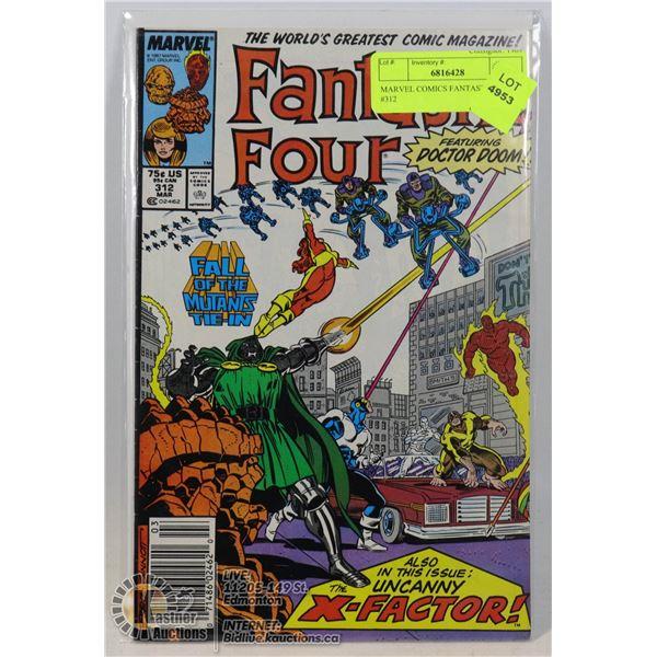 MARVEL COMICS FANTASTIC FOUR #312