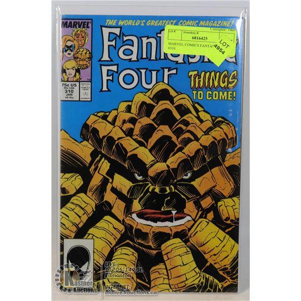 MARVEL COMICS FANTASTIC FOUR #310
