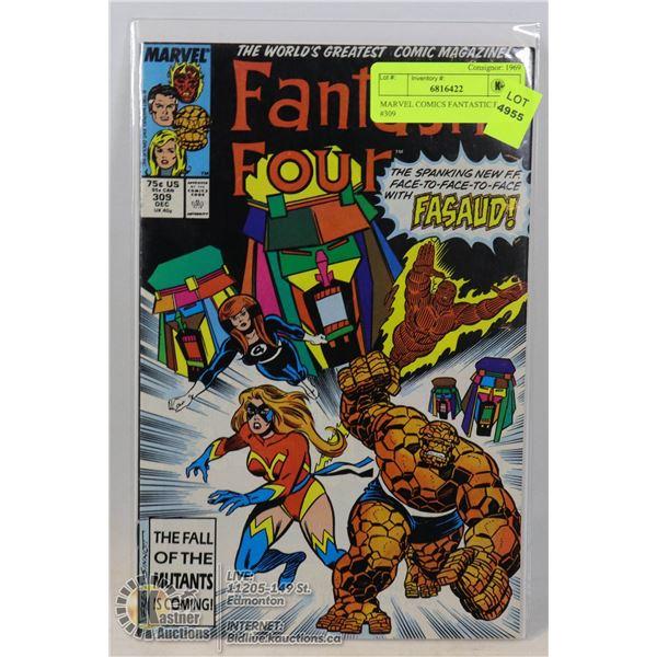 MARVEL COMICS FANTASTIC FOUR #309