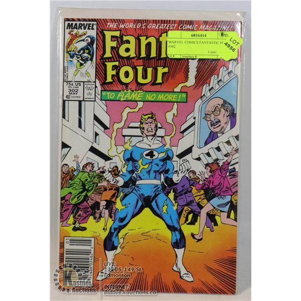 MARVEL COMICS FANTASTIC FOUR #302