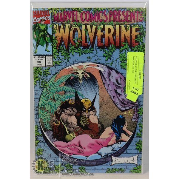 MARVEL COMICS PRESENTS WOLVERINE #90