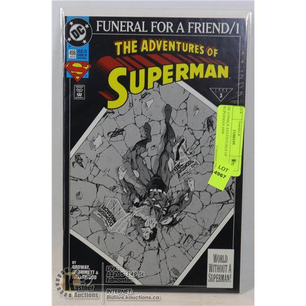 DC COMICS ANVENTURES OF SUPERMAN #498