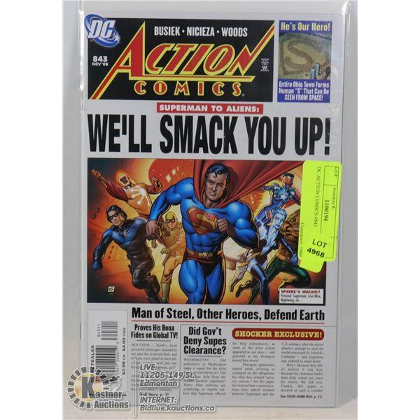 DC ACTION COMICS #843