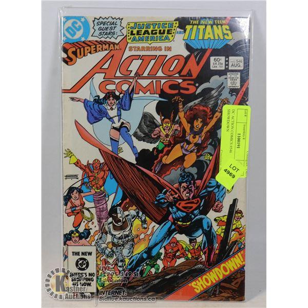 DC ACTION COMICS #546 SHOWDOWN